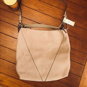 NWT Rebecca Minkoff Suede Hobo bag in Suede.